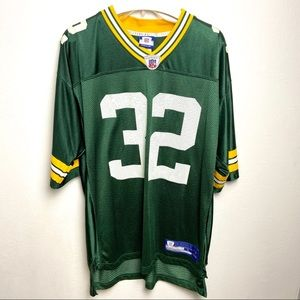 🍍 REEBOK Green Bay Packers Brandon Jackson…